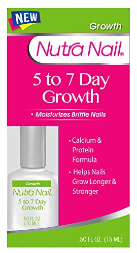 Nutra Nail 5 to 7 Day Growth Calcium Formula, 0.45 Fluid Ounce - Nail Growth Treatment