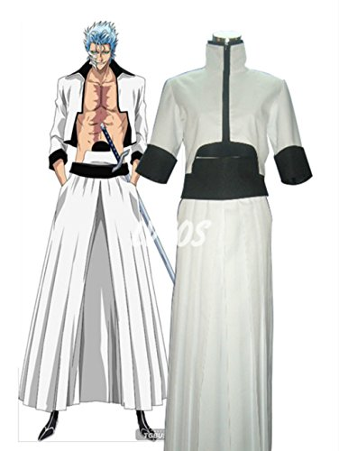 Bleach Arrancar Grimmjow Cosplay Costume