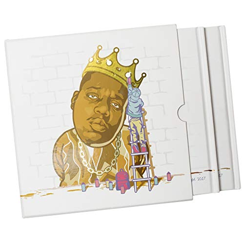 Brooklyn's Finest Deluxe Book Pack - ABCs + 123s Kids Learning Book Set w/Hip Hop Artists Theme