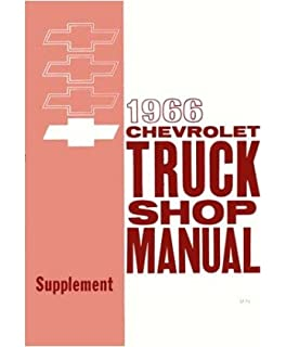 1963 chevy pickup truck shop service repair manual book amazon 1966 chevy pickup truck shop service repair manual book fandeluxe Choice Image