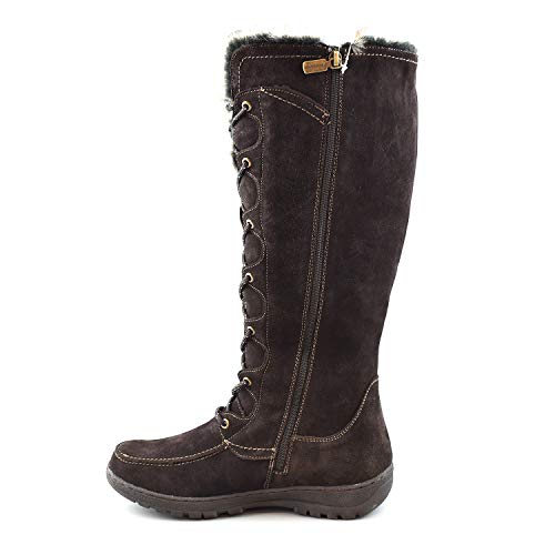 Snow Leather Warsaw Comfy 3M Brown Winter Cow Suede Boots Moda Women's Thinsulate q6tTA