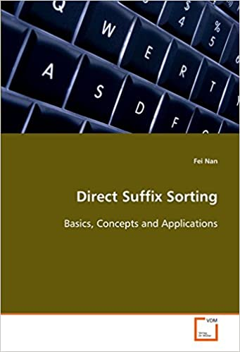 Book Direct Suffix Sorting: Basics, Concepts and Applications