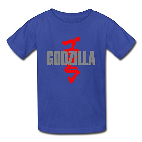 [AOPO Godzilla MUTO T Shirts For Kids Unisex Small RoyalBlue] (Anguirus Costume)