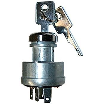 wiring diagram on john amazon com: ignition starter key switch  compatible with john deere on john deere 420