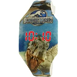 Jurassic World Boy's JURKD009 Blue Silicone Quartz Watch