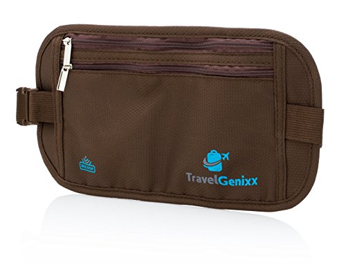Money Belt Waist Pack and Passport Holder Travel Accessory for Men and - Shopping Airport La Near