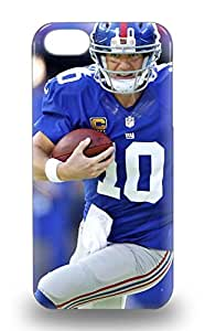 New NFL New York Giants Eli Manning #10 Tpu Skin 3D PC Soft Case Compatible With Iphone 5/5s ( Custom Picture iPhone 6, iPhone 6 PLUS, iPhone 5, iPhone 5S, iPhone 5C, iPhone 4, iPhone 4S,Galaxy S6,Galaxy S5,Galaxy S4,Galaxy S3,Note 3,iPad Mini-Mini 2,iPad Air )