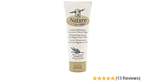 Amazon.com : Nature by Canus, Fresh Goats Milk Moisturizing Lotion, Lavender Oil : Beauty