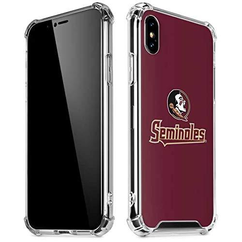 e86018e02d978 Skinit FSU Seminoles iPhone X/XS Clear Case - Officially Licensed Florida  State Phone Case - Slim, Lightweight, Transparent iPhone X/XS Cover