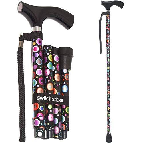Folding Adjustable Walking Sticks - 6