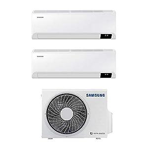 Climatizzatore Condizionatore Samsung Cebu Wi-Fi dual split 9+12 9000+12000 btu inverter A+++ in R32 AJ040TXJ2KG 41ljGh3PyRL. SS300