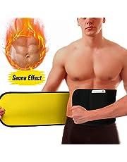 WOSTOO Fascia Addominale, Cintura Dimagrante, Regolabile Fascia Addominale Dimagrante Promuove la Perdita di Peso Brucia Grassi Body Shaper per Uomo e Donna