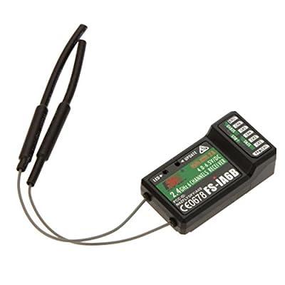 Flysky FS-i6X 10CH 2.4GHz AFHDS RC Transmitter w/ FS-iA6B Receiver: Toys & Games