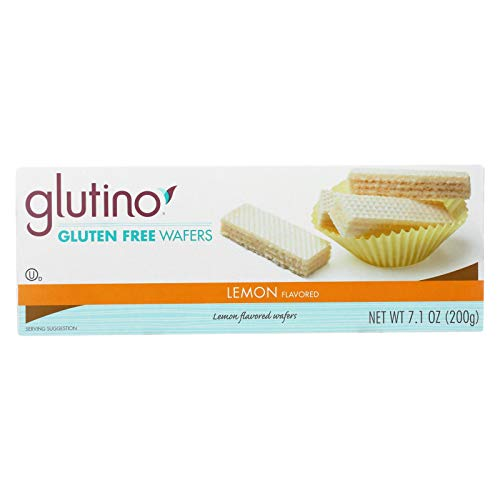 Glutino Wafer Bites - Lemon - Case of 12 - 7.1 oz.