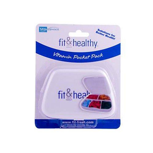 (2 Packs of Fit And Healthy Vitaminder Vitamin Pocket Pack - 1 Case)