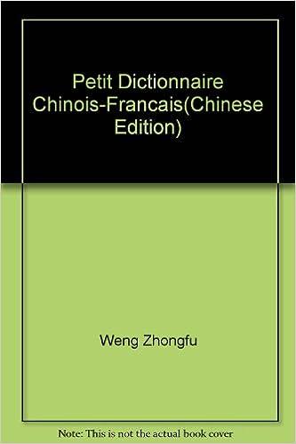 Petit dictionnaire chinois-français pdf, epub ebook