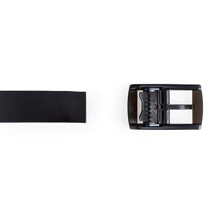 Balvi Cinturón Traveller lHédoniste Color Negro Ideal para Viajar Fabricado sin Metales No Activa los detectores de Metal Silicona 123cm: Amazon.es: Hogar