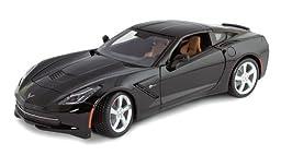 Corvette C7 Stingray Coupe 1/18 Scale Die Cast by Masito Black