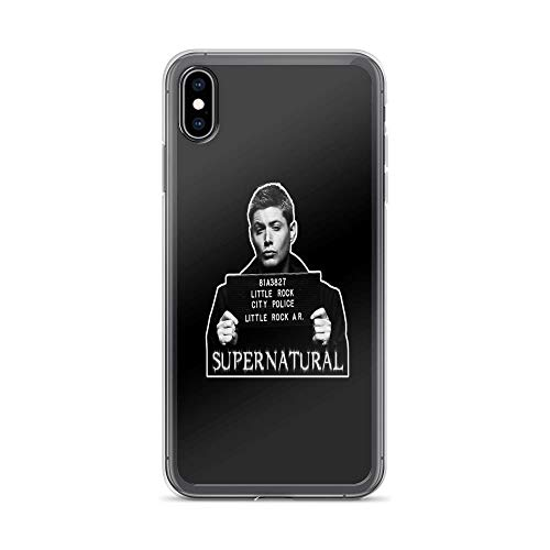 iPhone Xs Max Case Clear Anti-Scratch Dean, sam Winchester Cover Phone Cases for iPhone Xs Max, Crystal -