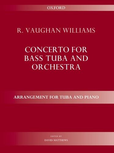 Vaughan Williams Tuba - Concerto for bass tuba and orchestra: Arrangement for tuba and piano