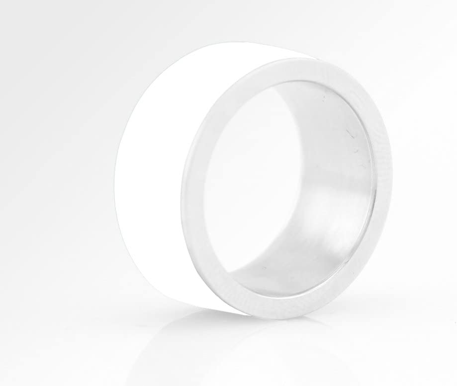 LYCOS Life Smart NFC Ring White Size 6