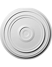 Ekena Millwork 24 3/8-Inch OD Traditional Reece Ceiling Medallion