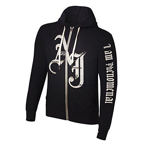 AJ Styles I am Phenomenal WWE Authentic Mens Zipper Hoody Sweatshirt