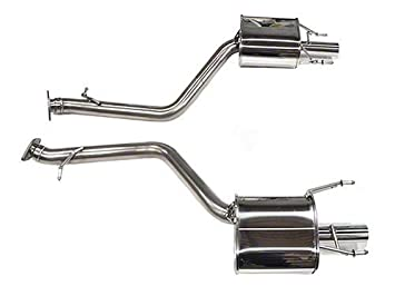 Tanabe T70170A Medalion Touring Axle-Back Exhaust System (Dual Muffler),  for Lexus GS350