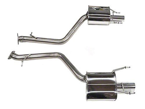Touring Axle Back Exhaust (Tanabe T70170A Medalion Touring Axle-Back Exhaust System (Dual Muffler), for Lexus)