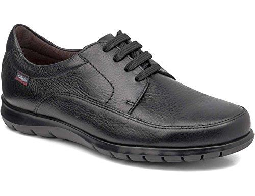Callaghan Sun, Zapatos de Cordones Derby para Hombre Negro (Black)