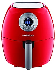 GoWISE USA 5.8-Quarts 8-in-1 Air Fryer XL with Accessories + 50 Recipes for your Air Fryer Book