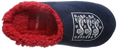 Bafiz England Home, Pantuflas para Niños Azul (Navy/Red 902)