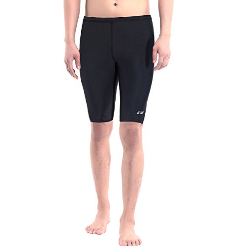 Aegend Men's Durable Solid Swim Jammers Soft Comfortable Fit Swimsuit Quick Dry Swimwear with Inner Elastic Waist Band, Black, Clearance Sale – DiZiSports Store