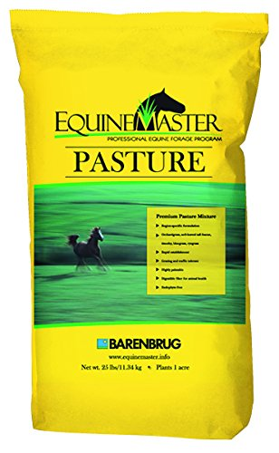 - Barenbrug Equinemaster25 Pasture Seed - Perfect for Horses and Livestock - Tolerant Formula to Resist Traffic Pressure - 25 lb - Covers 1 Acre