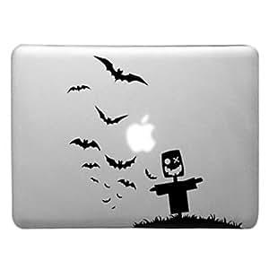 """MOFY- El espantap‡jaros y Patr—n Mar Mew transparente caja de la PC dura para el MacBook Pro (colores surtidos) , Blanco , 13.3"""""""