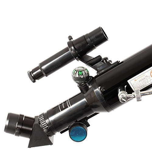 Twinstar 60mm Refractor Telescope (Black)