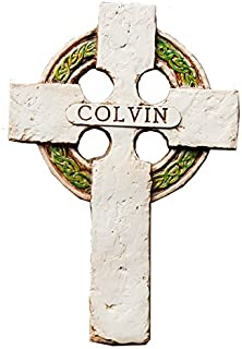 product image for Piazza Pisano Irish Wall Cross Personalized with a Name