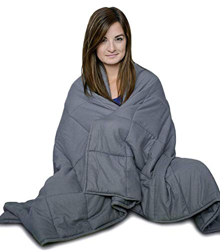 (CuddleBug Weighted Blanket for One Adult - 15 lbs 48