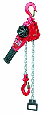 "Coffing LSB-B Stamped Steel Ratchet Lever Hoist, 14-9/16"" Lever, 12000 lbs Capacity, 20' Lift Height"
