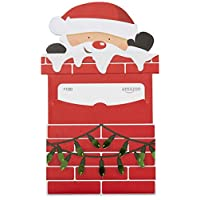 Amazon.com $100 Gift Card in a Santa Chimney Reveal
