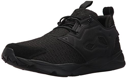 Reebok Mens Furylite Affiner Sneaker Mode Noir / Blanc