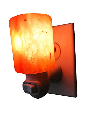 Dream Salts Himalayan Salt Night Light / Natural Crystal Lamp