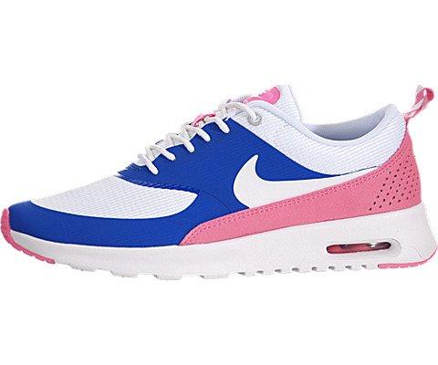 Nike Women's Air Max Thea Gm Royal/White/Pnk Glw/Wlf Gry Running Shoe 8.5 Women US