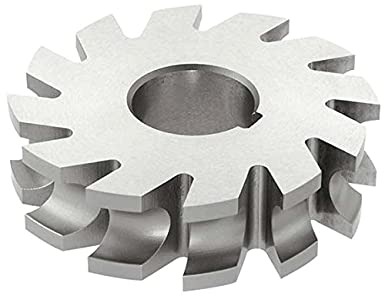 KEO Milling 84379 Staggered Tooth Milling Cutter,S Style HSS 7//8 Width 8 Cutting Diameter 1-1//2 Arbor Hole 28 Teeth TiAlN Coating Standard Cut