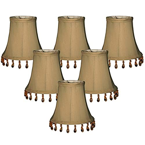 Beaded chandelier lamp shade amazon 6 pack royal designs antique gold beaded bell chandelier lampshade 3 x 5 x 4 cs 313b 5agl 6 aloadofball Image collections