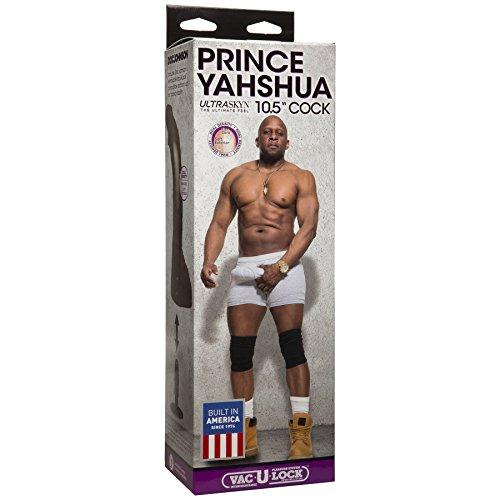 Doc-Johnson-Prince-Yahshua-ULTRASKYN-105-Cock-With-Removable-Vac-U-Lock-Suction-Cup-Base-F-Machine-Compatible-Dildo-Brown