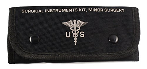 20 Pc Tactical Black First Aid Tactical Kit Military Molle Pouch Universal BOB Ideal for Camping, Firefighters, EMT, First Responders, Police and Military