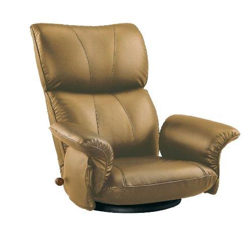 宮武製作所 スーパーソフトレザー座椅子 匠 たくみ YS-1396HR ブラウン 2306 B0040YFDM2 Parent ブラウン