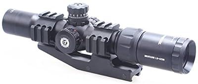 Vector Optics Tactical 1.5-4x30 Tri illuminated Chevron Reticle Scope Riflescope for .223/5.56 Rifles