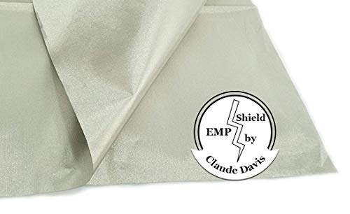 EMP Cloth:180'' by 42.5''.Protect Your Generator Form The Effects of an EMP or CME; RFID Blocking Cloth; EMP Protection Device; EMF Shielding; Power Generator Protection; Military Grade EMP Protection; by Claude Davis (Image #6)